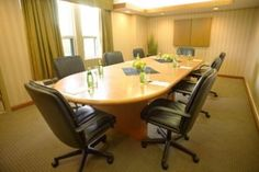 Meeting room at Radisson.