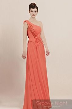 気品あるロイヤルカラーで淑女の装い ワンショルダーロングドレス♪ - ロングドレス・パーティードレスはGN|演奏会や結婚式に大活躍!