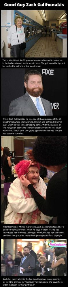 Funny Pictures: Famous actor finds out 87-year-old lady he befriended years ago is homeless, he then decides to do something about it...