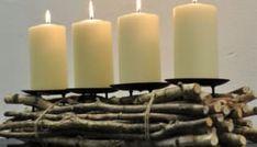 Ano, už je to tady… Tento týden je opravdu první adventní neděle. Už máte svůj adventní věnec, abyste doma zapálili první svíčku? Advent, Candles, Candy, Candle Sticks, Candle