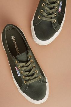 Slide View: 4: Superga Satin Sneakers