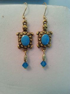 For-The-Love-Of-Turtles Earrings by BJDevine on Etsy