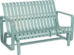 Harkening back to a more relaxed time, the Colfax Collection reminds of us sitting about on the front lawn, sipping sweet tea and chatting with neighbors. Constructed of extruded aluminum and offered in a wide array of powder coated finishes. Very durable and light weight aluminum material Minimal maintenance required Suitable to be used anywhere outside Arm handles are offered for comfort and style Features gliding motion for relaxation and comfort Outdoor Glider, Outdoor Chairs, Outdoor Furniture, Outdoor Decor, Outdoor Spaces, Patio Loveseat, Pool Chemicals, Aluminum Patio, Patio Seating