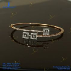 Touch of real diamond. Get In Touch With us on Diamond Bracelets, Gold Bangles, Sterling Silver Bracelets, Bangle Bracelets, Silver Jewelry, Harry Winston, Bracelet Cartier, Saphir Rose, Aquamarine Jewelry