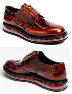 Prada's Levitate Wingtip. Hybrid shoes, a step forward