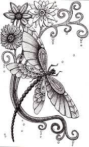 Dragonfly or something like this around my right breast