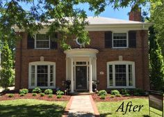 The owners of this lovely home below purchased the trim accent on