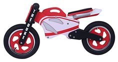Duke Wooden Motorbike Balance Bike 2017 Model With Stand