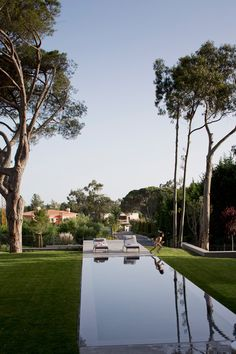 Quinta Patino by FVArquitectos  Pool-and-Courtyard