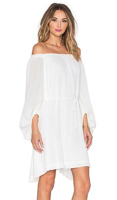 Shop for Shona Joy Cumulus Off Shoulder Dress in Ivory at REVOLVE. Free 2-3 day shipping and returns, 30 day price match guarantee.