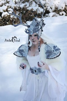 Winter spirit Faun by Feral-Workshop.deviantart.com on @DeviantArt