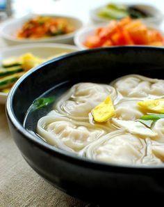 Mandujuk - yummy Korean soup I miss Korea so much! Their food was so yummy. I remember this being yummy at least. Haha.