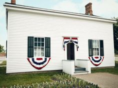Henry Ford's birthplace, reconstructed at Greenfield Village at The Henry Ford Museum in Dearborn, Michigan