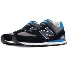 new style 96ef4 bd892 New Balance 574 Core Plus Men s 574 Shoes ( 75) ❤ liked on Polyvore  featuring