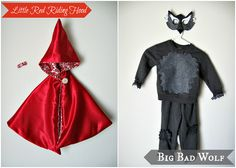 Freshly Completed: Little Red Riding Hood + Big Bad Wolf + Woodsman