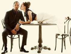 Can't get enough of the Jamie Foxx x Kerry Washington shoot for LA Confidential