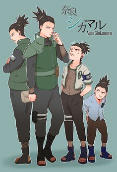 Shikamaru was always one of my favorite from Naruro