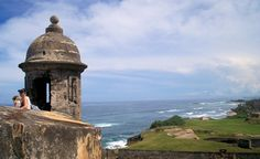 """""""This is a photo of Castillo de San Cristobal, a historic Spanish fort in San Juan, Puerto Rico.� It was completed in 1783 and covers about 27 acres."""" (From: 30 Beautiful Photos of the Caribbean)"""