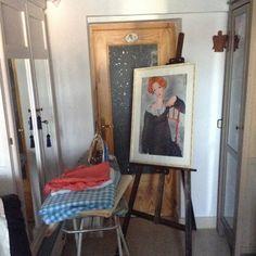 Modigliani, inspiración para mi próximo tapiz