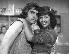 """José Luis Rodríguez """"El Puma"""" y Mayra Alejandra Rodríguez Lezama. Actores"""
