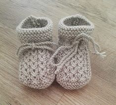 Baby Bootie Knitting Patterns - knitting baby patterns , Baby Bootie Knitting Patterns Free Knitting Pattern Little Eyes Baby Booties - Cute cable booties designed for newborns but easily customizable to lar. Baby Knitting Patterns, Knit Baby Booties Pattern Free, Knit Baby Shoes, Baby Socks, Knitting For Kids, Knitting Designs, Baby Patterns, Knitting Projects, Knitted Booties