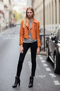 30 Sneaky Ways to Incorporate Orange into Your Fall Wardrobe | Popbee - a fashion, beauty blog in Hong Kong.