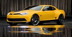 2014 Concept Camaro Confirmed as Transformers 4 Bumblebee
