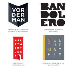 2014 Logo Trends :: Letter Stacks