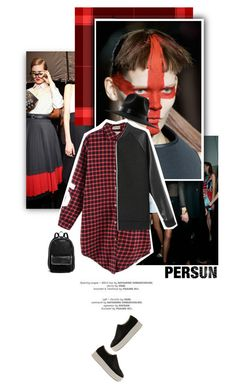 """""""Persun #10"""" by juhh ❤ liked on Polyvore featuring Versace, Marc by Marc Jacobs, Gareth Pugh, STELLA McCARTNEY, country, fashionset, persunmall, persun and Juliajulian"""