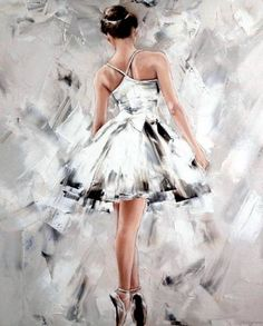 Buy Ballet a Oil on Canva Ballet Drawings, Dancing Drawings, Art Drawings, Ballerina Kunst, Ballerina Painting, Art Ballet, Dance Paintings, Dance Pictures, Belle Photo