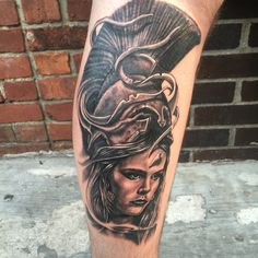 Got this Athena tattoo done by Ryan Thomas at Boston Tattoo Company in Somerville, MA.
