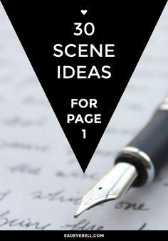 Opening scene ideas!