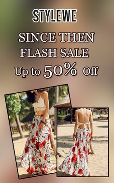 Get up to 50% discount on Since Then Flash Sale items only at StyleWE. Grab up now, offer is valid for limited time. For more StyleWe Coupon Codes visit: http://www.couponcutcode.com/stores/stylewe/