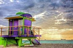 lifeguard tower!