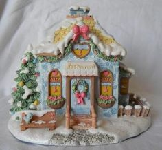 Hawthorne Village JOLLY INN RESTAURANT Christmas Precious Moments