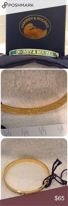 Authentic Dooney & Bourke Bracelet Perfect item to dress up any outfit. Will fit wrists up to 7.25 in circumference . I'm sorry but I don't trade. Dooney & Bourke Jewelry Bracelets
