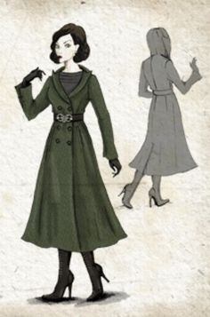 "Concept art of Narcissa Malfoy from ""Harry Potter and the Half-Blood Prince"" (2009)."