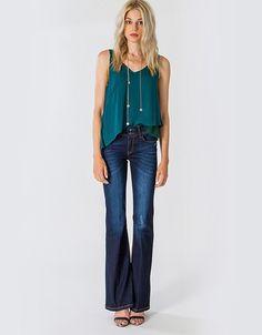 Τζιν καμπάνα Bell Bottoms, Bell Bottom Jeans, Store, Womens Fashion, Pants, Trouser Pants, Bell Bottom Pants, Storage, Women's Fashion