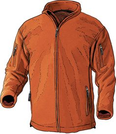 Duluth Trading Company' Men's Pile Lined Fleece Jacket (Therminator)