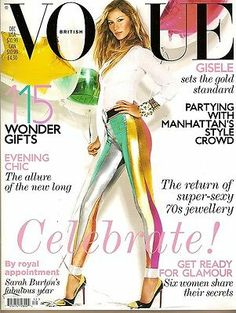 Vogue Festival Gisele on the December 2011 cover of Vogue UK by Mario Testino - this one is classic - i have it still!Gisele on the December 2011 cover of Vogue UK by Mario Testino - this one is classic - i have it still! Vogue Covers, Vogue Magazine Covers, Fashion Magazine Cover, Fashion Cover, Vogue Uk, Vogue Fashion, 3d Fashion, Vogue Russia, Cheap Fashion
