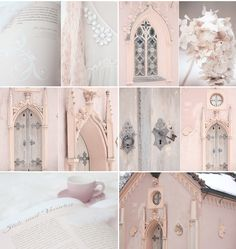 White and Shabby - pretty and pale