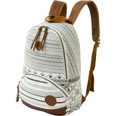 My inner 16 year old would be the talk of the school with this. Striped Backpack, Diy Backpack, Backpack For Teens, Leather Backpack, Fashion Backpack, Roxy Backpacks, Backpacks For Teens School, Mk Bags, Cute Bags
