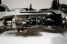 The Shelby Turbine that powered the cars in the Botany 500 Racing Team