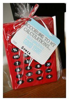 Personalize Calculator for Teacher Appreciation.