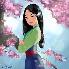 Mulan by Teote0.deviantart.com on @DeviantArt