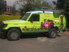 Bright Star Mobile Library - Islamabad Toyota 4wd