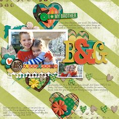 He Ain't Heavy by Traci Reed and Libby Pritchett Lovey Dovey Vol. 1 by Nettio Designs My Boyfriend's Handwriting by Darcy Baldwin & Studio Basic Designs