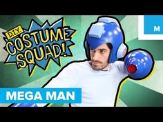 Make Your Own Mega Man Suit | DIY Costume Squad - YouTube