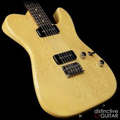 Tom Anderson Cobra Special Shorty T TV Yellow Tele | Reverb