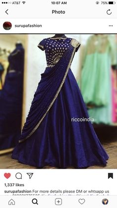 Ideas wedding pictures display at home kids Half Saree Lehenga, Lehenga Gown, Lehnga Dress, Indian Wedding Gowns, Indian Gowns Dresses, Half Saree Designs, Lehenga Designs, Designer Party Wear Dresses, Indian Designer Outfits